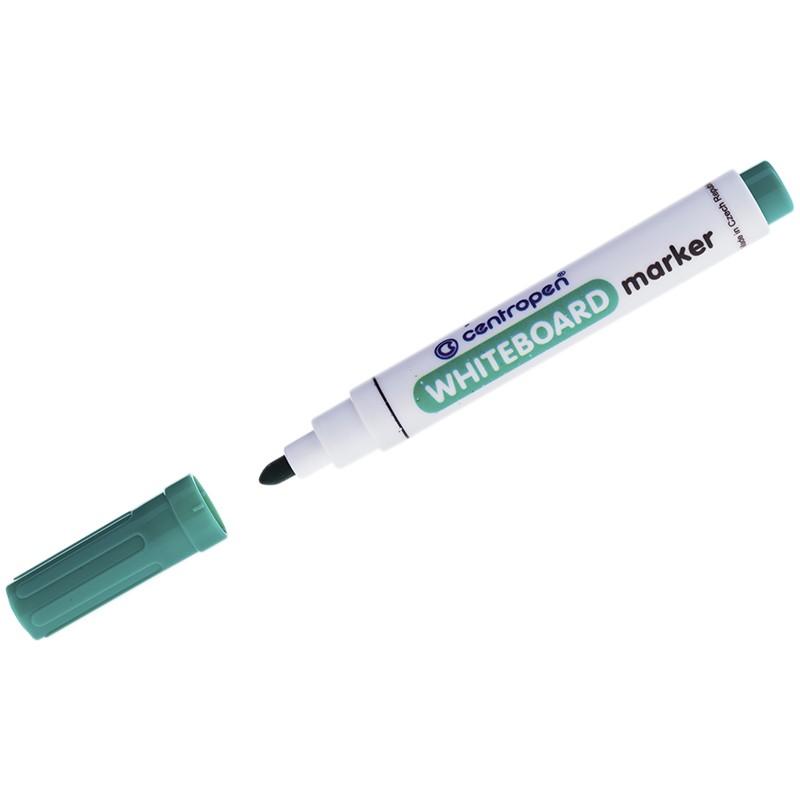Маркер для белых досок Centropen 8559 зеленый, пулевидный, 2,5мм