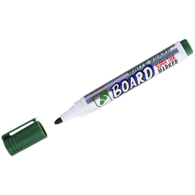Маркер для белых досок Crown Multi Board зеленый, пулевидный, 3мм