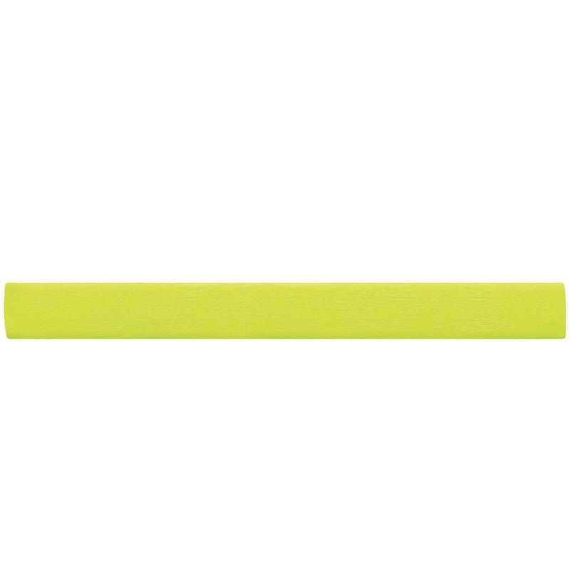 Бумага крепированная Greenwich Line, 50*200см, 22г/м2, флюоресцентная, желтая, в рулоне