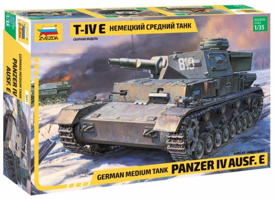 Зв.3641 Немецкий танк Т-IV Е /10