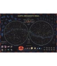 Интерактивная карта Зведного Неба c ламинацией в тубусе Globen